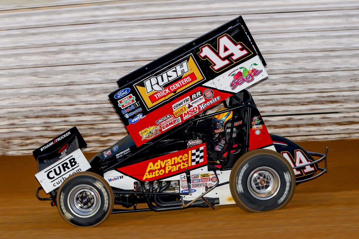 Tony Stewart scores podium in Tuscarora 50 opener, finishes 13th in finale
