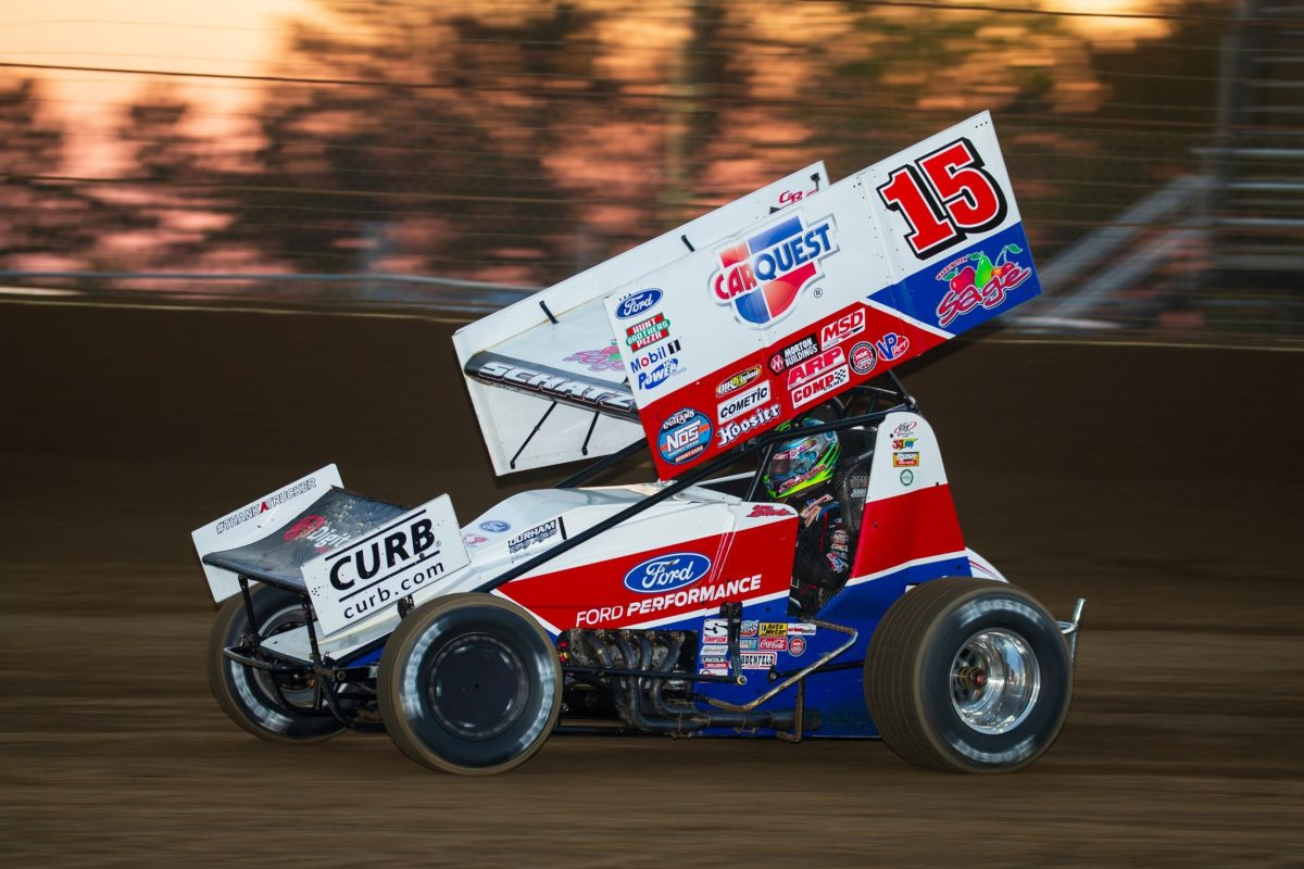 Donny Schatz concludes 2020 WoO season with back-to-back top-tens at The Dirt Track at Charlotte, third in Series driver chase
