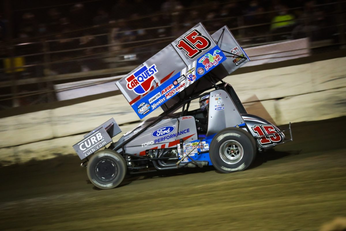 Donny Schatz opens 2021 season with podium, three consecutive top-tens at Arizona Speedway