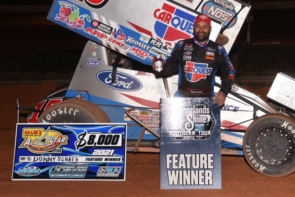 Donny Schatz scores All Star victory, top-five during Screven's Winter Freeze