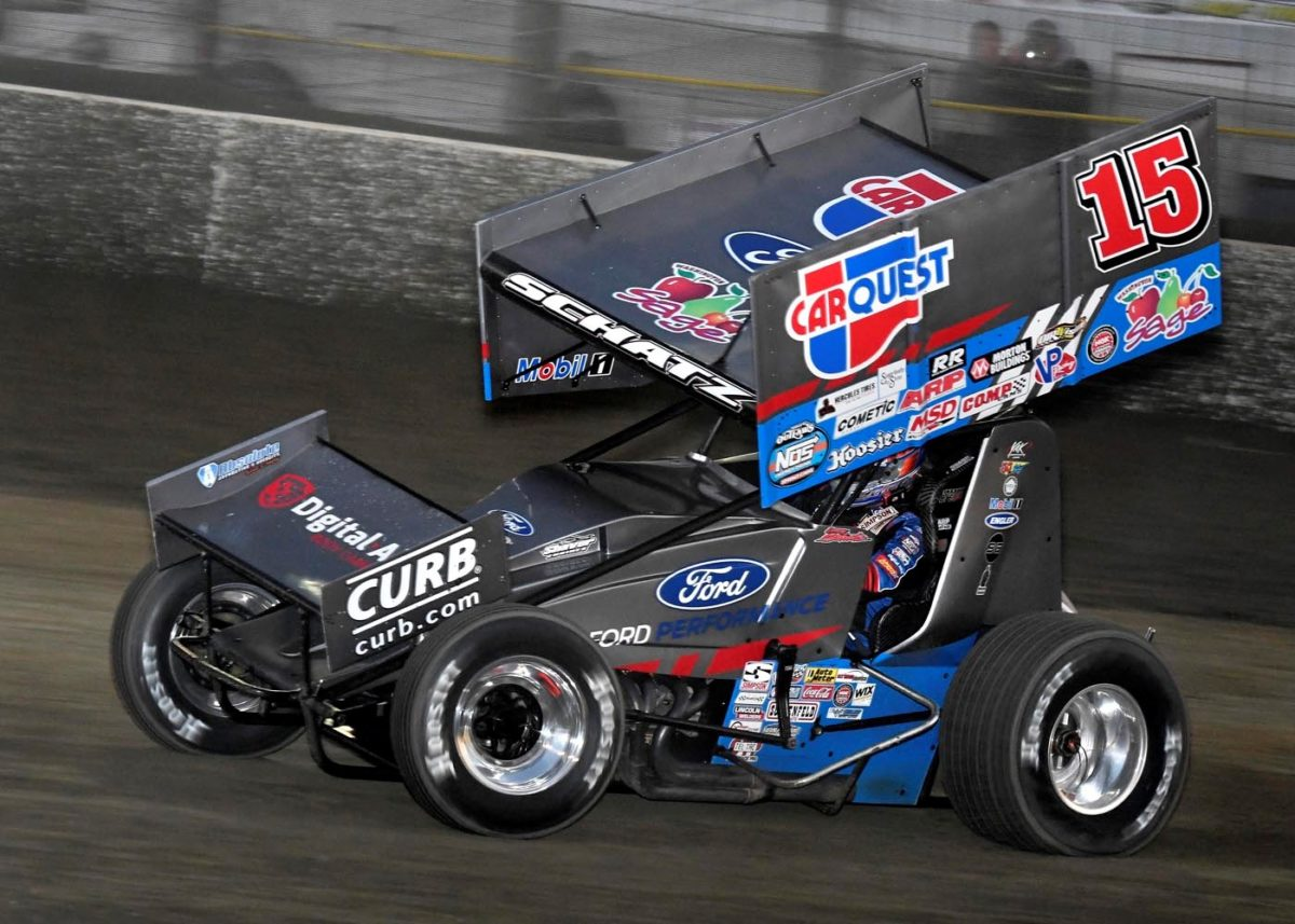 Donny Schatz finishes fourth twice in WoO Florida double